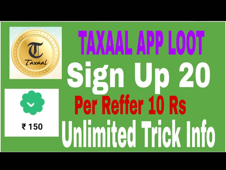 Taxaal App Loot | WebFree4u